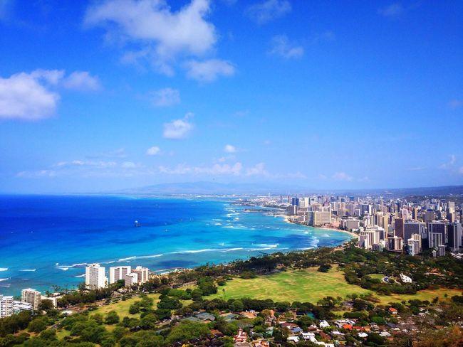 Hawaii Landscape Blue Sky