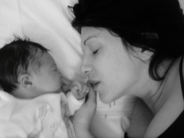 Love Day Secret Real People EyeEm Best Shots EyeEm Selects Blackandwhite Day Real People #hands Bornday #love #portrait #photography #Memories #mother And Daughter #emotions #Heart #helloworld Togetherness Domestic Life Bedroom Love Falling In Love EyeEmNewHere A New Beginning