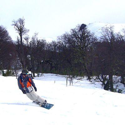 Cerro Catedral Bariloche Snowboarding Carving Argentina