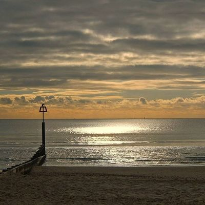""" The Groynes "" Bournmouth Beach Sunnyday Wintersun Shoreline Reflection Clouds November Groynes Beachscene Seashore Sea Englishchannel Shotoftheday Cloudsofinstagram Cloudsoftheday"