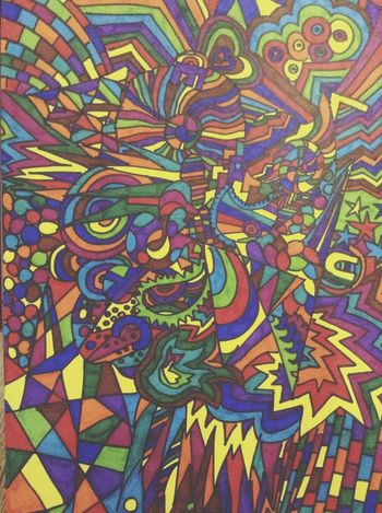 Sharpies  Marker Art Pen Colours Bright Drawing
