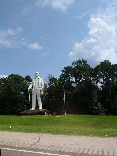 Statue Steven P Austin My Year My View No People Nature Texas