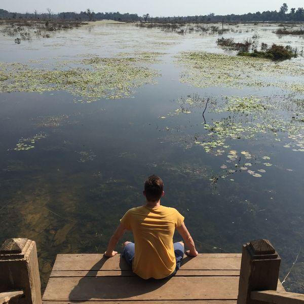 Cambodia Siemriep Swamp Swamps Lake Lake View Sumpf See Farview