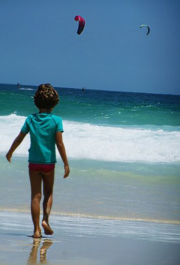 Freedom Lifestyle Water Children Only Motion Sand Boys Childhood Sport Wave People Day Scenics Beach Rio De Janeiro Adventure Tourism Vacation Time Travel Destinations Playing Kid Summer Yolo Sky Vitality