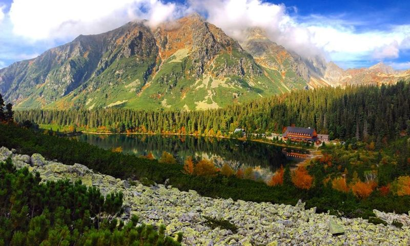 Beautifulview Beauty In Nature Beauty In Nature Green Color Hightatras  Hightatrasmountains Hiking Hikingadventures Landscape Love Lovemountains Mountain Mountain Peak Mountain Range Nature Nature Nature Photography Nature_collection Outdoors Scenics Travel Tree Water