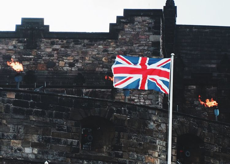 Union Jack Union Castle Flag