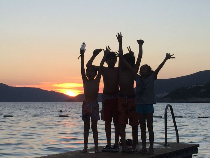 Joy Bodrum Kids Sunset