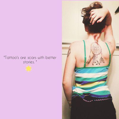 TattooAddict ❤ Tattoo Obsession Tattooedgirls I Love Tattoos Girls With Tattoos Dreamcatcher Tattoo Dreamcatcher. ❤💋👌👍✋