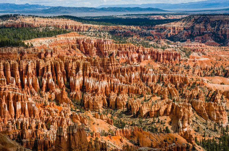 Beauty In Nature Bryce Canyon National Park Canyon Day Geology Landscape Nature No People Outdoors Rock Hoodoo Scenics Tranquil Scene Travel Destinations