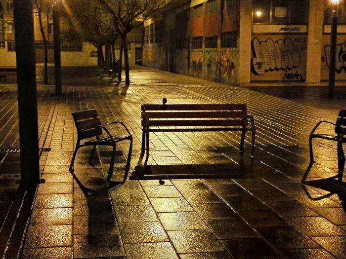 A esas horas el suelo parecía de oro Pamplona, Edificios Públicos, Navarra, Spain, Es Night Lights Color Explosion