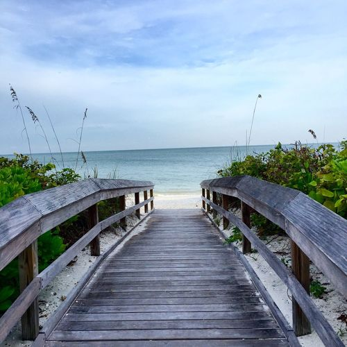 Florida Beach Landscape Life Is A Beach Holiday