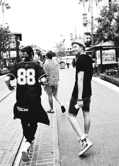 BTS Bangtan Boys Rapmonster Bangtan