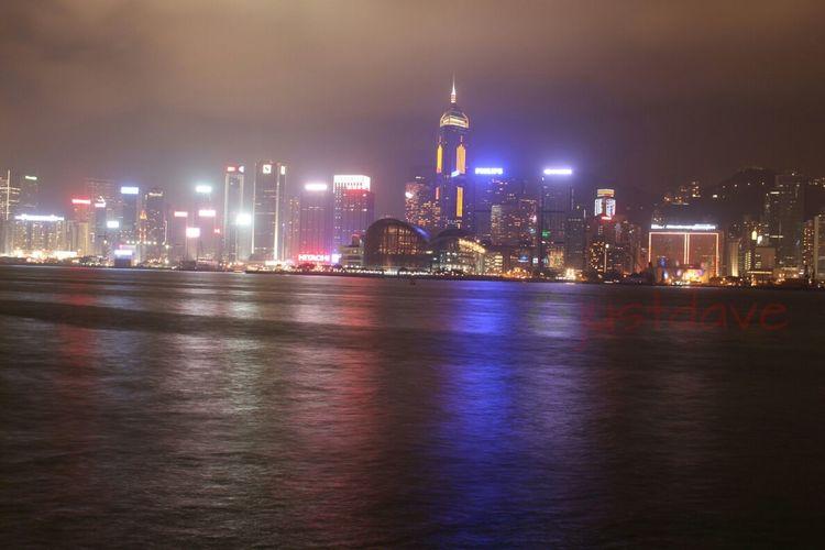 Wan Chai Night Skyline Hk Nites Nights Of Hong Kong