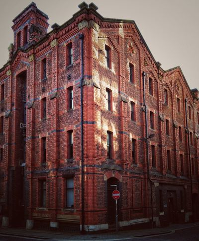 Red bricks of the indrustial Revolution Architecture Built Structure Building Exterior Building Red No People Bricks Liverpool