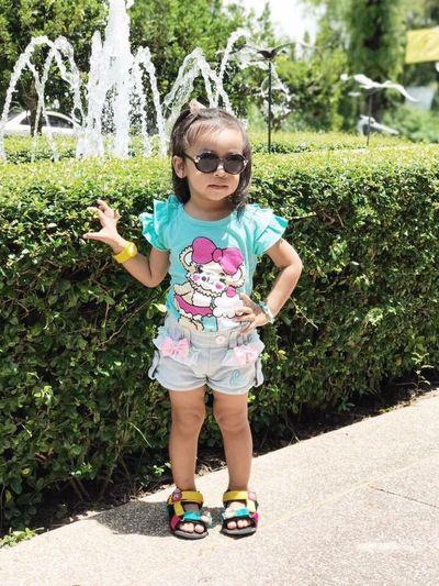Supermodel Childhood Sunglasses Girls Child Nice Cute Thailand Model Supermodel