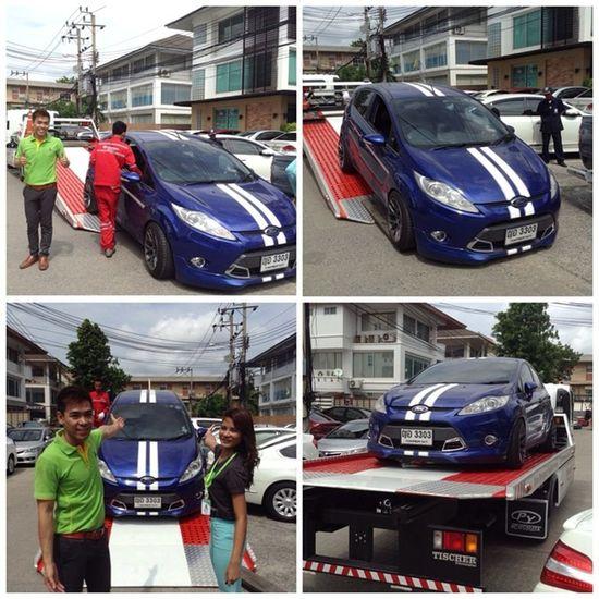 บริการดีๆ ยกรถฟรี!!! จาก Ford Roadside Assistance!!! ขอขอบพระคุณเป็นอย่างสูงคราบบบบบ Fordfiesta Fordfiestaclub Fordfiestathailand