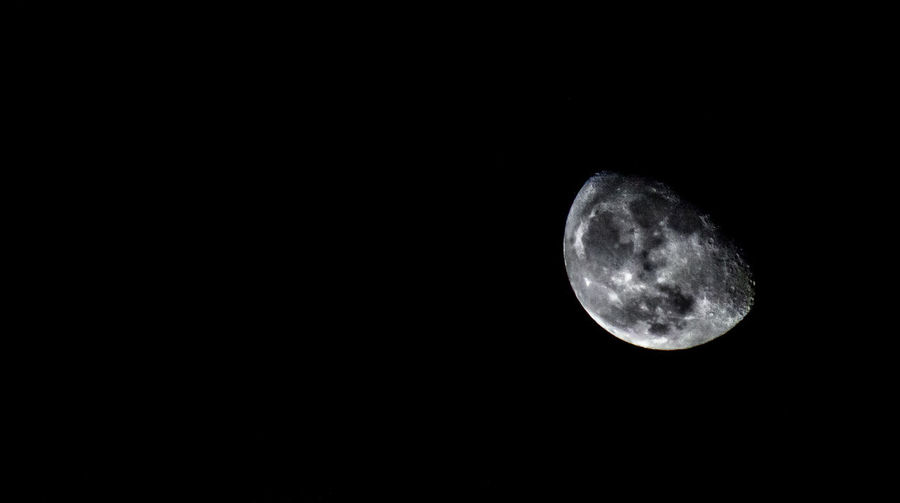 Some leftovers from super moon. Astronomy Beauty In Nature Copy Space Moon Moon Surface Nature Night No People Outdoors Planetary Moon Scenics Space