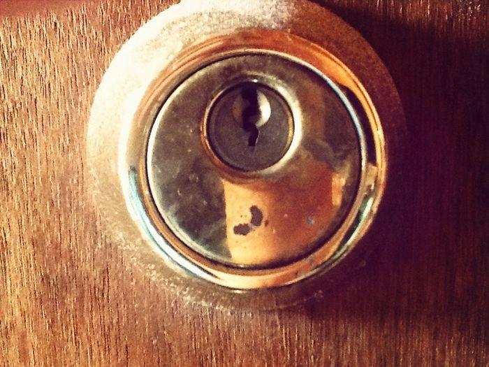 Show Me Your Keys Metal Doorknob