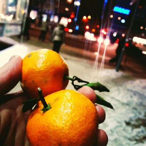 Mandarin Fruit Focus On Foreground Food Citrus Fruit Orange - Fruit Freshness Healthy Eating Close-up Food And Drink City Human Hand Outdoors Day People First Eyeem Photo