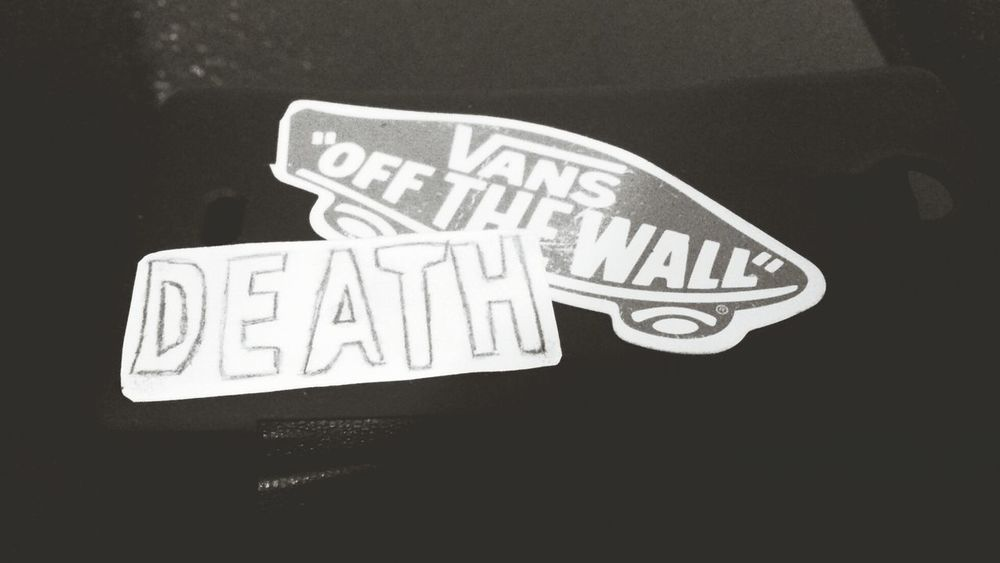 Vans off the wall and death...Vans Unkut Posey Death