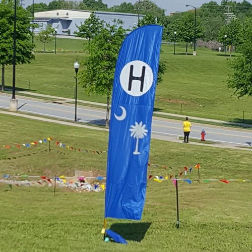 Its a kite hospital Grass Sport Day Tree Outdoors Adult People Adults Only Springtime Love My Life  Love Where You Live Spartanburg, SC Kite Fest Kite Hospital