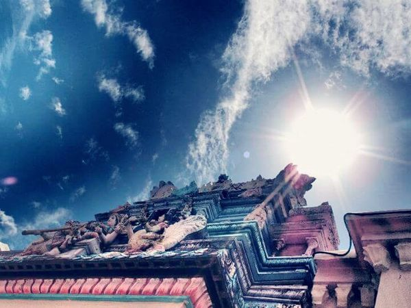 Beautiful Penang Sunlight Indiantemple Penang Malaysia Georgetown Penang The Great Outdoors - 2016 EyeEm Awards TheStreetPhotographer-2016EyeemAwards Theessenceofsummer Sky Travel Photography Thebeautyofnature Fine Art Photography