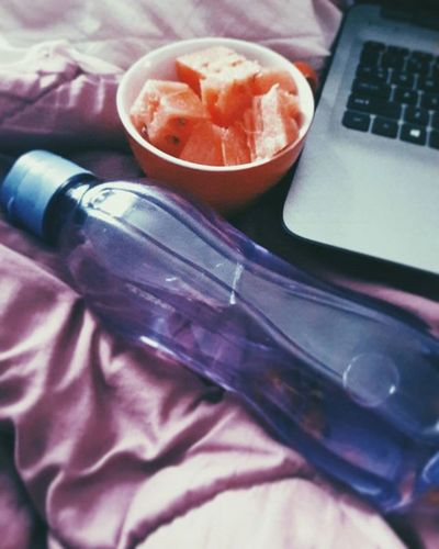 Random need to take a picture😐 Watermelon Water Freezingweather Winterback Literallychilling