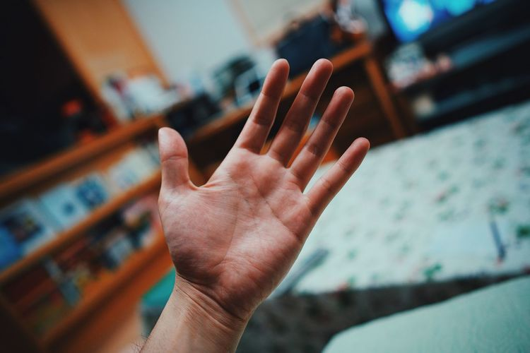 EyeEm Selects Human Hand Human Finger Focus On Foreground Human Body Part One Person Indoors  Showing Gesturing Real People Close-up Communication Palm Day People EyeEmNewHere