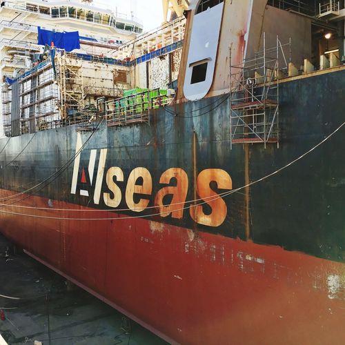 Taking Photos Navantia Drydock Allseas Audácia Vessel Repair The Week On EyeEm