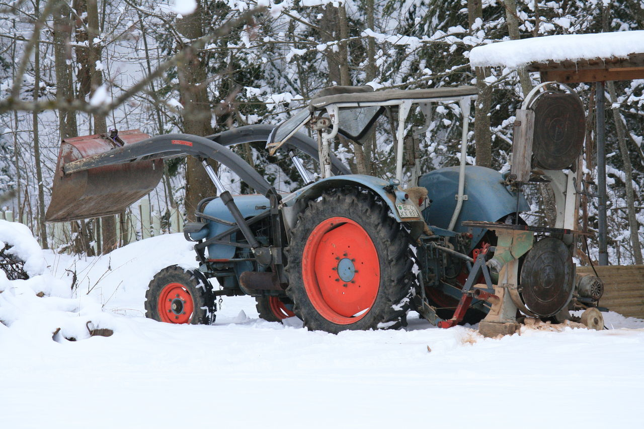 snow, cold temperature, winter, field, weather, nature, day, outdoors, tree, transportation, no people, landscape, land vehicle, beauty in nature