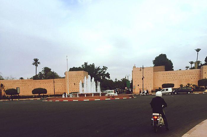 Marrakech les remparts UrbanSpringFever Marrakech Morocco Maroc Wall Medina