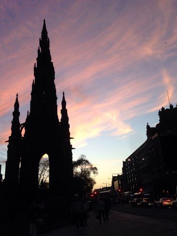Showcase: December Scott Monument Edinburgh Scotland Sunset Skies Eyeem Scotland