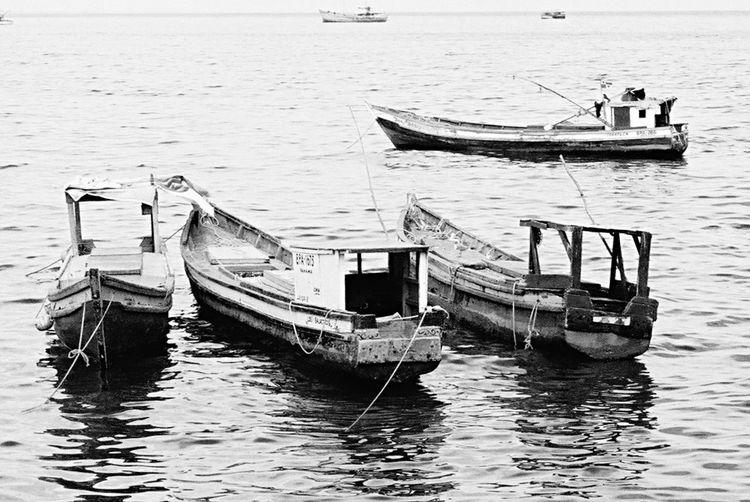 Como me gusta mirar, los barcos en la bahía Beautiful Surroundings Panamá EyeEm Best Shots - Black + White The Calmness Within Casco Antiguo