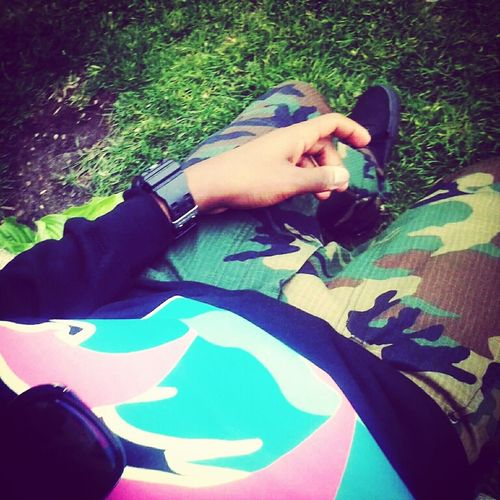 Pink Dolphin X Camo