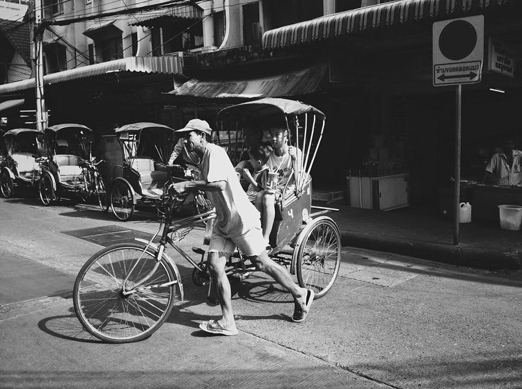 Tricycle Bike Taxi Open Edit Documentary Humanride