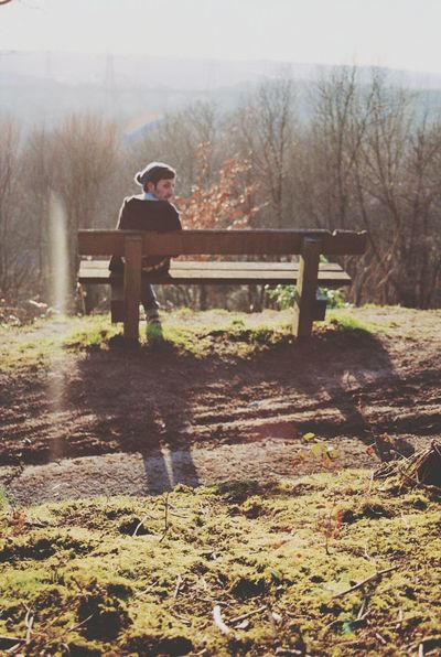 are you gong to sit with me then? Hello World Color Portrait Exploring Woods Naturelovers