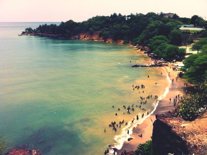 Beach Bikeride Cliff Dakar