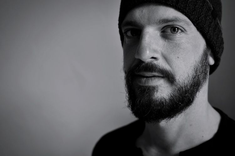 Self Portrait Bnw Bnwportrait Portrait Men Headshot Studio Shot Human Face Looking At Camera Close-up
