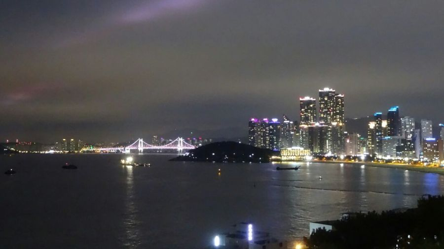 Landscape Seaside Night Nightphotography