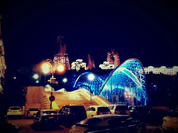 Baku funikuler Baku Füniküler Flametowers