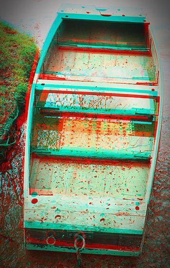 En barque embarque mais pas dans celle là 😄✋ ANAGLYPHE Relief 3D France Charente Anaglyph Balades