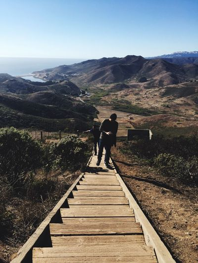 Mountain Tranquil Scene Siblings San Francisco