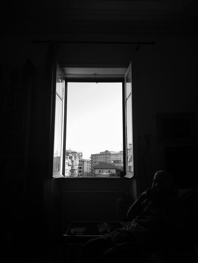 Window Indoors  Architecture Skyscraper Cityscape Apartment Day Sky Place Of Heart The Great Outdoors - 2017 EyeEm Awards Grandfather Grandfather Love Grandfather's Birthday 91 EyeEm Selects