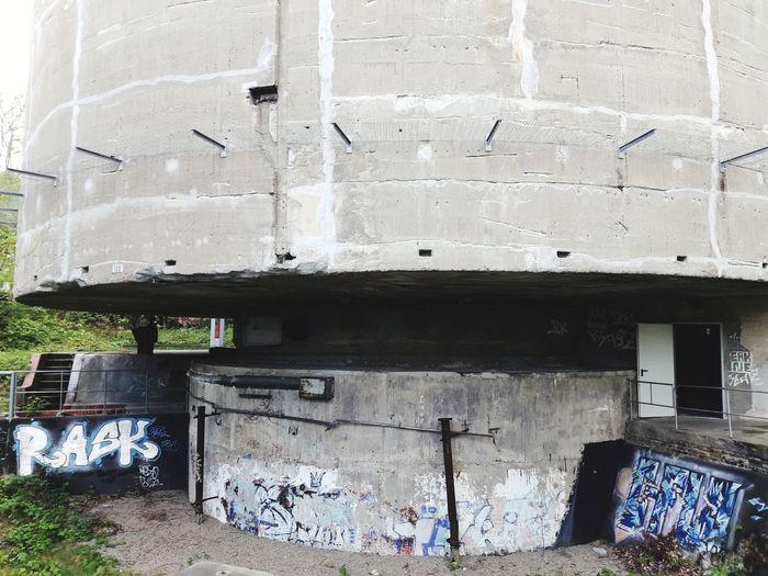 Nazi Architecture Burden Body Berlin Belastungskörper Schwerbelastungskörper Germania Graffiti Architecture Building Exterior Built Structure Street Art Run-down Weathered Abandoned