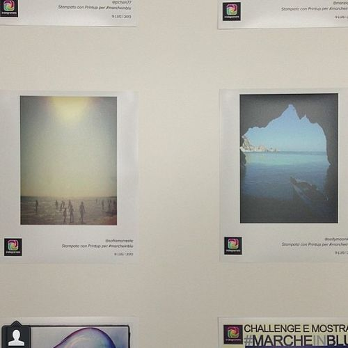 Stampe in mostra nelle Marche Rotonda sul Mare per #marcheinblu. igersmarche Marcheinblu