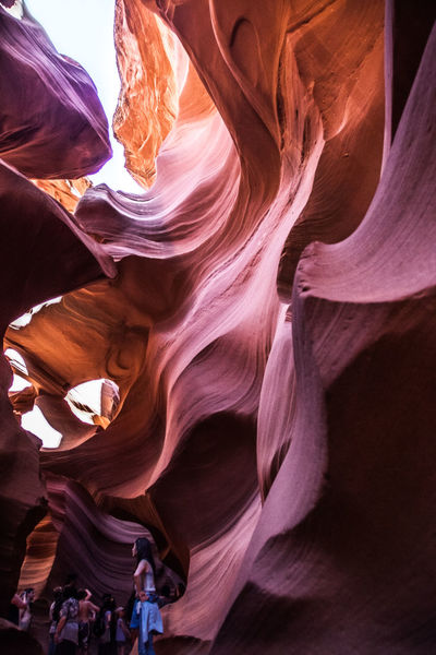 Beautiful Light And Shadow Brilliant Color Light Cave Fantasy Lights Underground Antelope Canyon Antelope Canyon Famous Place International Landmark Nature Rock Formation Spirituality Sunlight Tourism Tourist Travel Travel Destinations USA