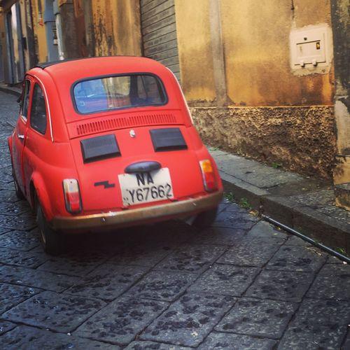 Italy Fiat500 Fiat Oldtimer Procida Littlestreets