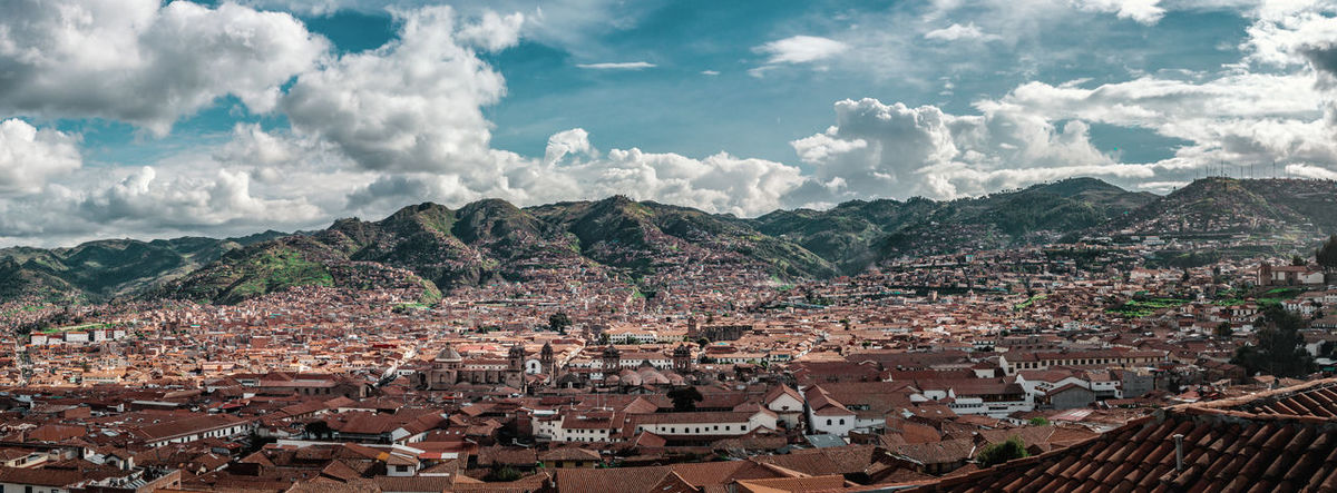 The beautiful view over Cusco. Andes Backpacking City Cityscape Exploring Inca Latin America Panorama Architecture Building Colonial Crowded Day Discover  High Angle View Nature Outdoors Residential District Roof Roof Tile Settlement South America TOWNSCAPE Travel Destinations Urban The Great Outdoors - 2018 EyeEm Awards