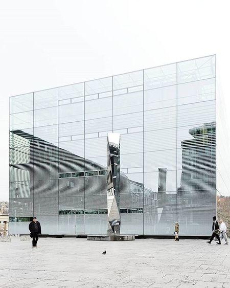Stuttgart's glas palace - art museum - Kunstmuseum Kunstmuseumstuttgart Busystranger