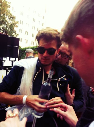 lorenz wt soundcloud vodka & big konfetti bag SoundCloud EyeEm Summer Party 1000 Days Of #Soundcloud Meeks' Boyz